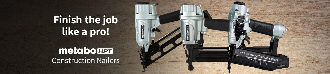 Metabo Construction Nailers