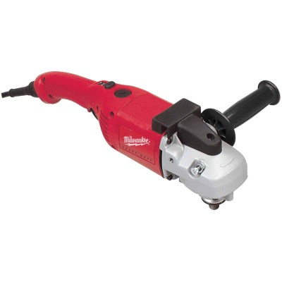 Milwaukee 13-Amp 7 In./9 In. 6000 rpm Angle Polisher Sander w/Dial
