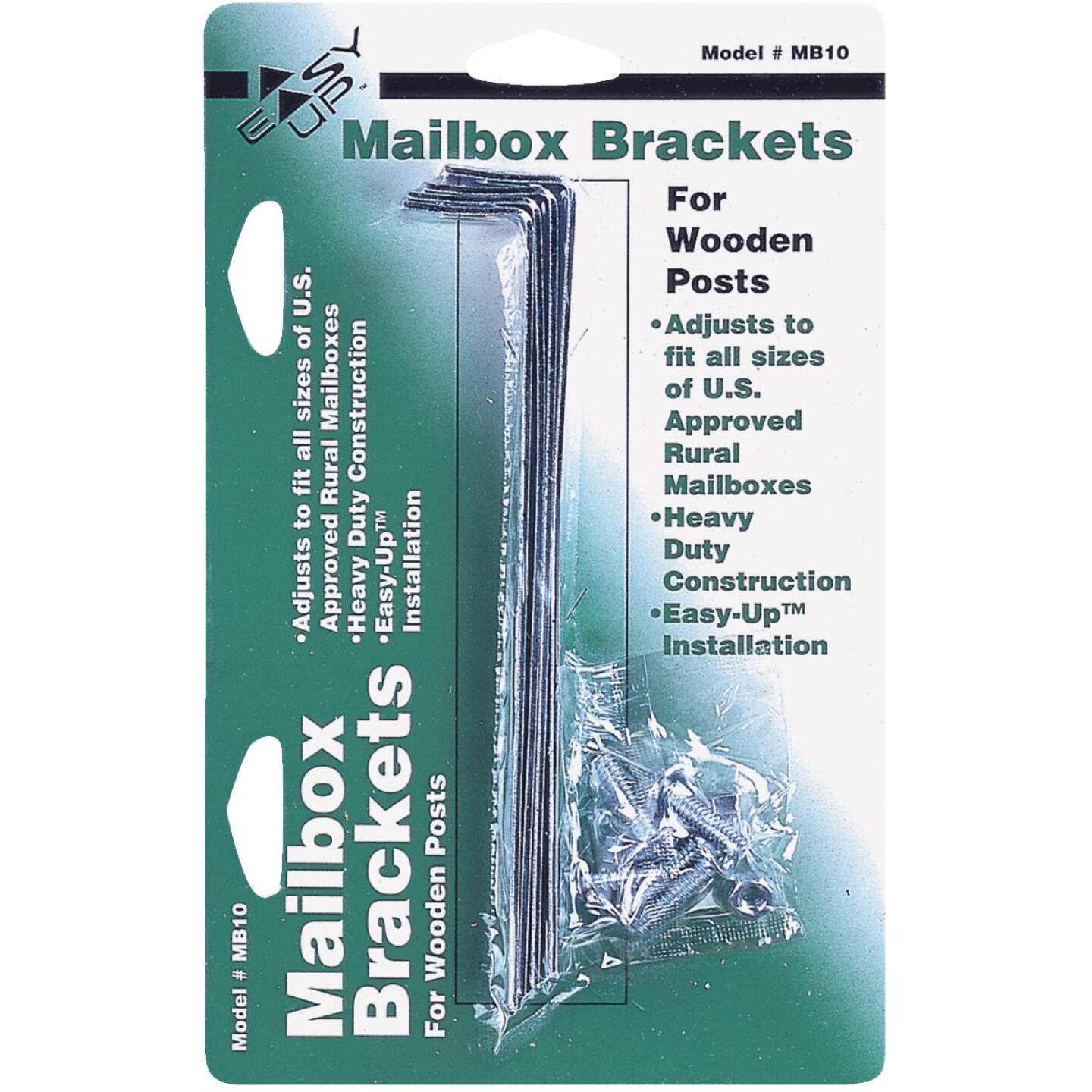 Gibraltar Adjustable Metal Mailbox Bracket (4-Piece) Image 1