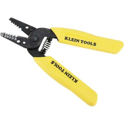 Klein 6 In. 10 AWG to 18 AWG Solid Wire Stripper