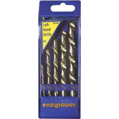 Eazypower Left Hand Drill Bit Set (5-Piece)
