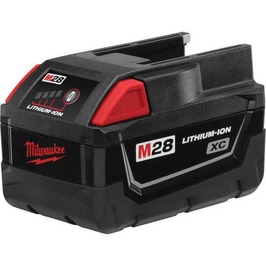 Milwaukee M28 REDLITHIUM XC 28 Volt Lithium-Ion 3.0 Ah Tool Battery