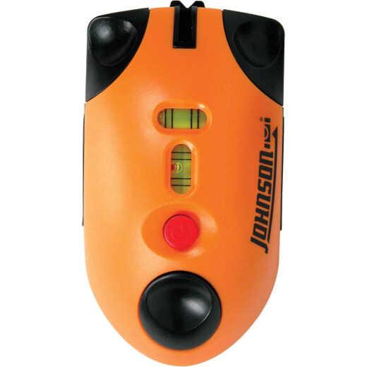 Johnson Level LaserMouse 30 Ft. Manual-Leveling Line Laser Level