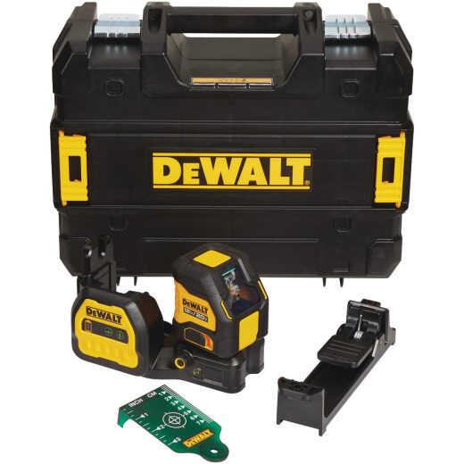 DeWalt 12V/20V MAX Cordless Green Cross Line Laser Level (Tool-Only)