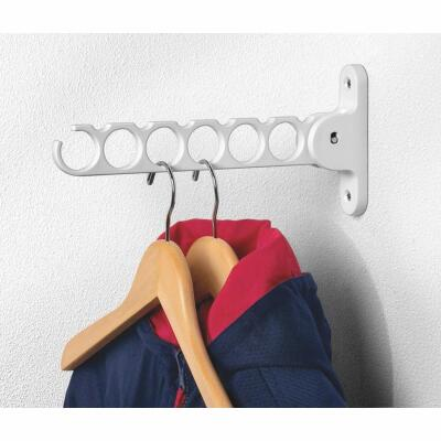 Spectrum White Wall Mount Hanger Holder