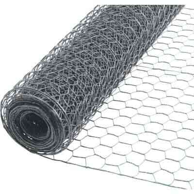 Do it 1 In. x 48 In. H. x 50 Ft. L. Hexagonal Wire Poultry Netting